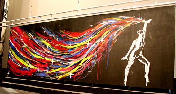 Animation Performance Artistique à Marseille, peinture en live à Toulon, Nice