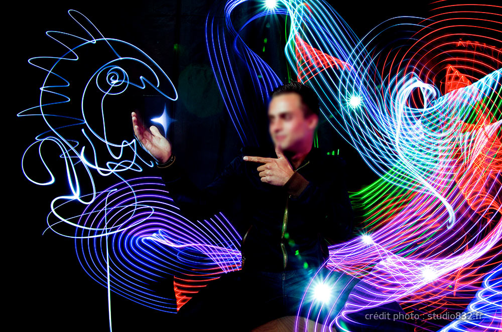light painting photocall Aix en Provence 015