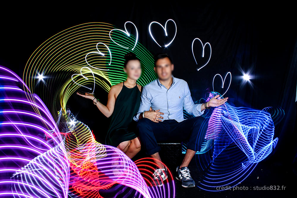light painting photo originale animation Cannes 047