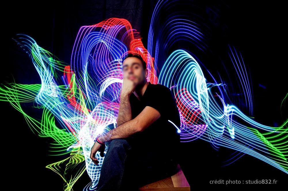 light painting portrait live Noël Toulon 006