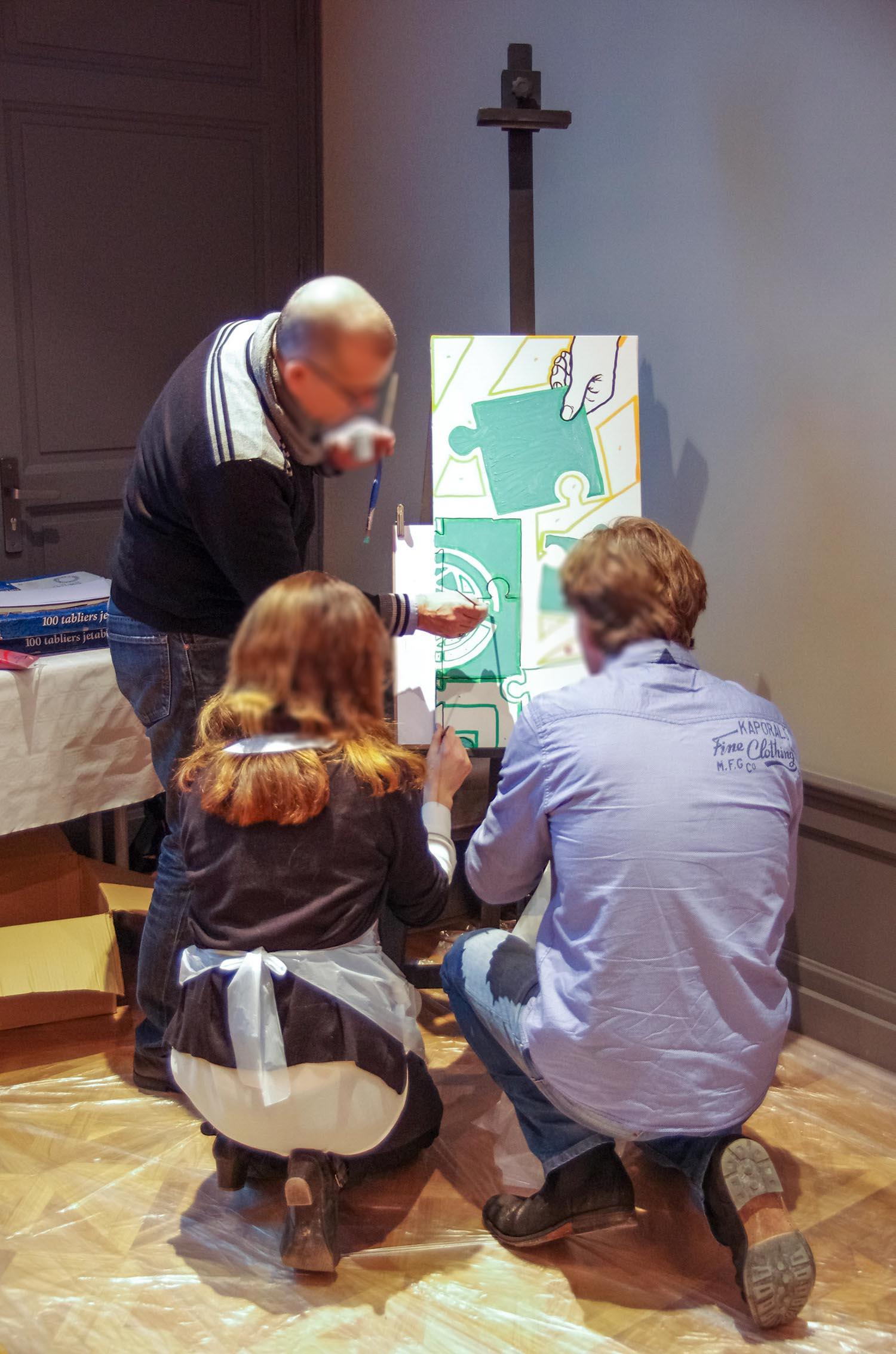 Team building Arts plastiques à Marseille-001